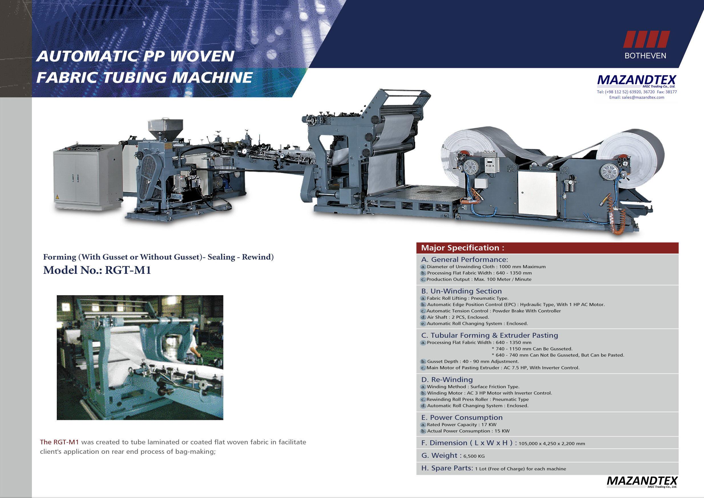 machine tubing